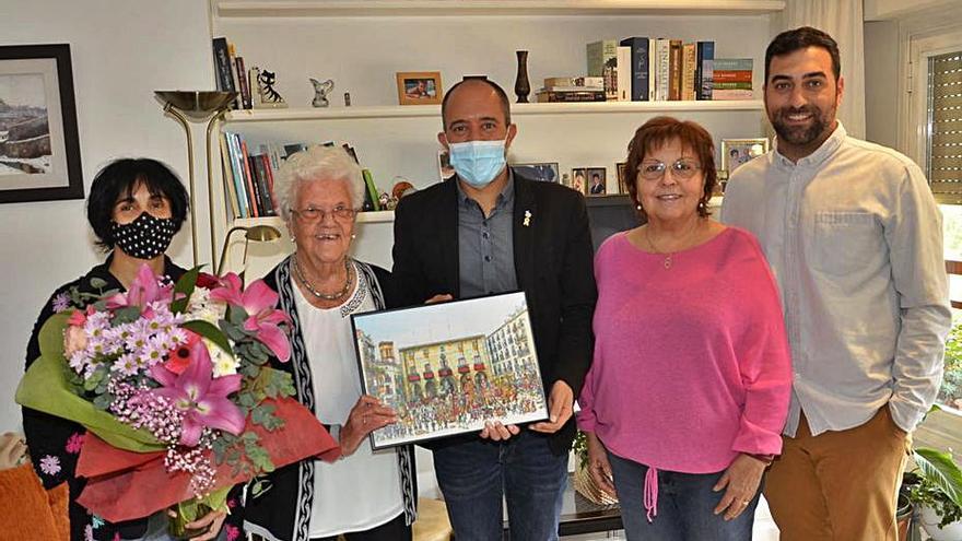 Roser Cots Prat celebra el centenari del seu naixement