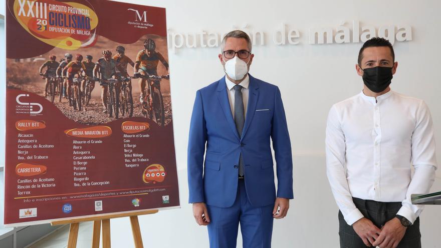 Arranca la 23ª edición del Circuito Provincial de Ciclismo