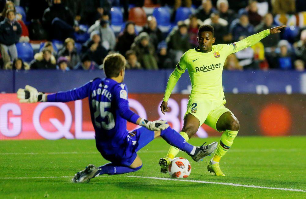 Las mejores imágenes del Levante - Barcelona.