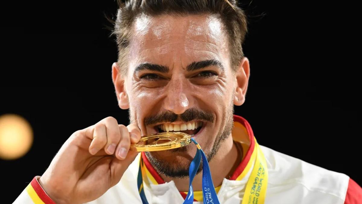 Damián Quintero, doble campeón del mundo de kata, es una de las grandes opciones de medalla de la delegación española.