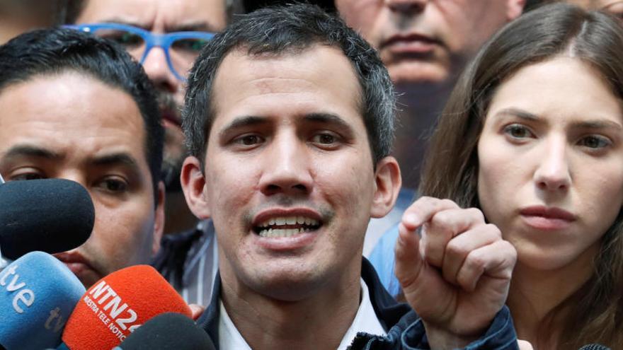 """Guaidó, el """"presidente encargado"""" de Venezuela"""