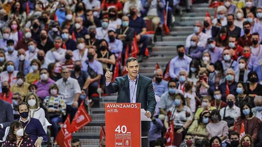 Sánchez reivindica  la socialdemocràcia  i el llegat del PSOE