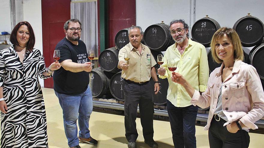 El Ifapa y una empresa de Doña Mencía hacen vinagres de frutas