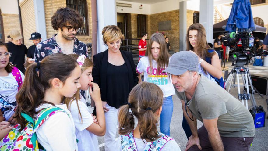 Finalitza el rodatge d'«Uno para todos», la nova pel·lícula de David Ilundain