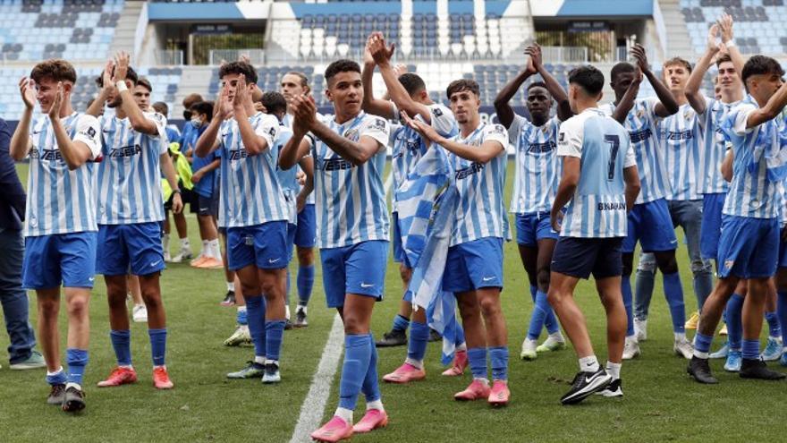 El Juvenil del Málaga se medirá al Athletic en los cuartos de la Copa de Campeones