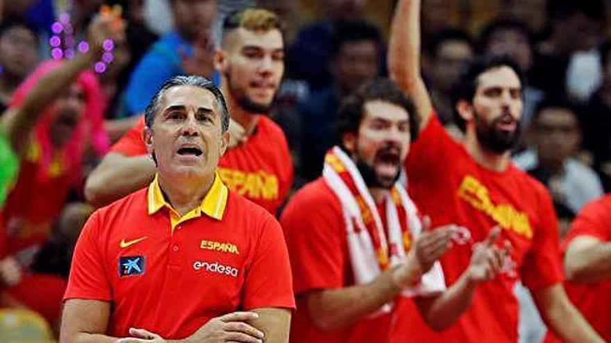 L'equip estatal sabrà el rival a quarts després de jugar avui contra Sèrbia