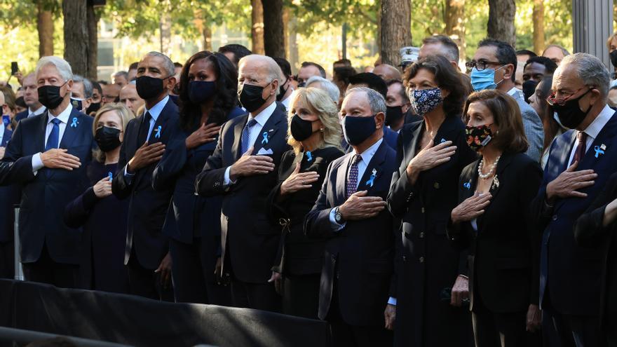 EEUU llama a la unidad en el 20º aniversario del 11-S
