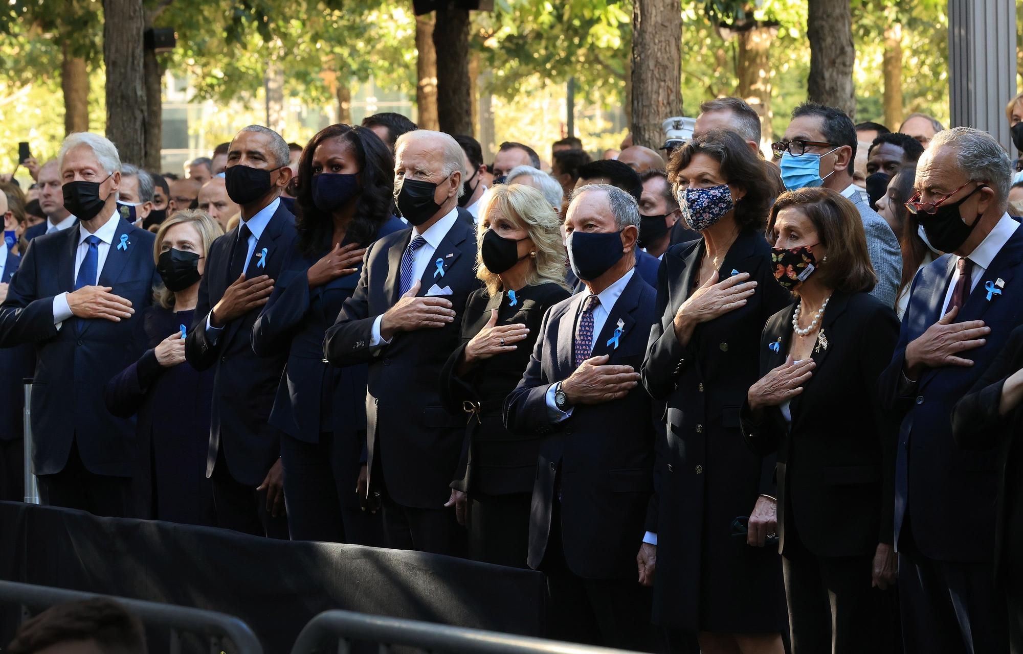 Acto de homenaje a las víctimas del 11-S en Nueva York