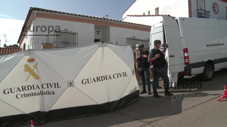 El detenido por la muerte de Manuela Chavero vuelve a su casa con la Guardia Civil