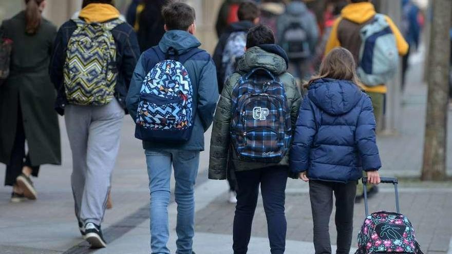Los casos de coronavirus en centros educativos de Galicia siguen bajando y ya no hay ninguna escuela cerrada