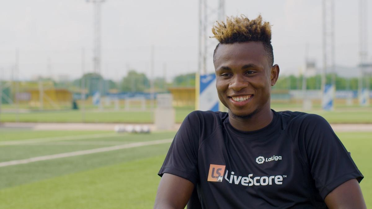 Samu Chukwueze confiesa que Cazorla es el jugador con más talento que ha visto