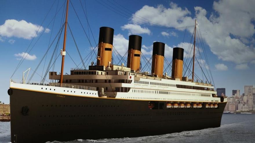 """El """"Titanic"""" volverá a navegar 110 años después"""
