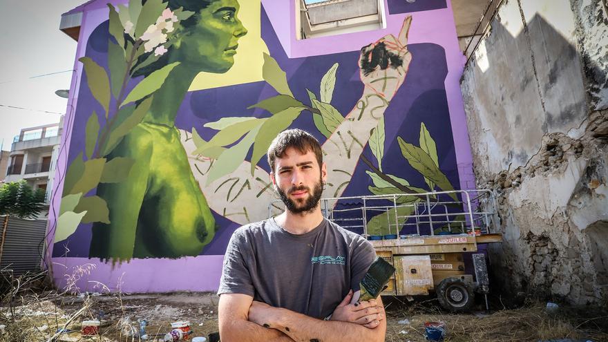 La inventiva de las mujeres hecha mural