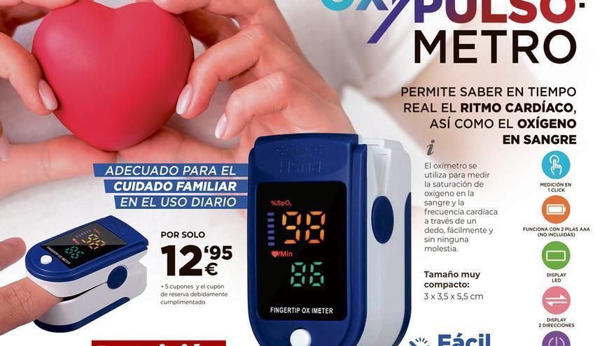 Oxipulsómetro, conoce tu ritmo cardíaco y el oxígeno en sangre