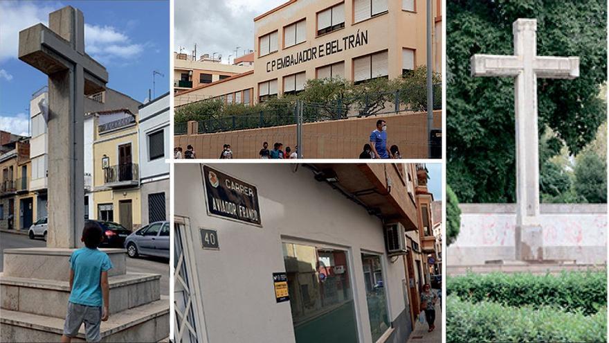 El mapa de la discordia: los 74 vestigios 'franquistas' en Castellón