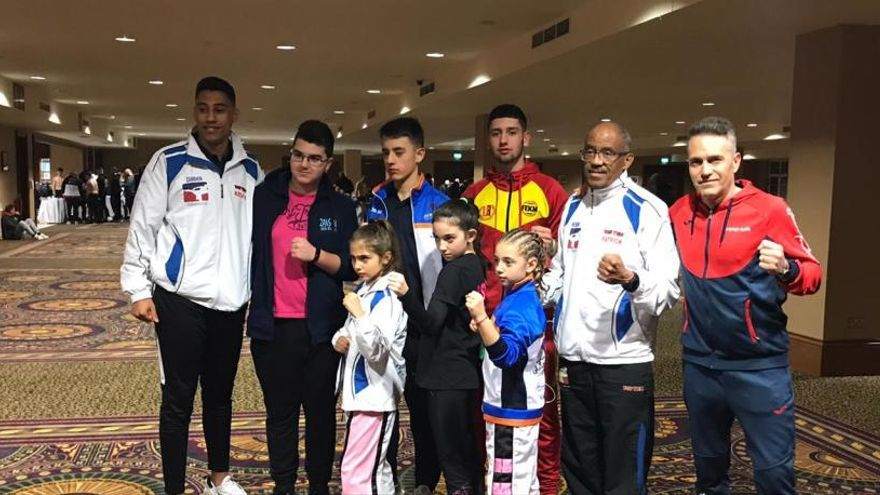 Dos deportistas de Utiel consiguen seis medallas en el mundial de Kickboxing