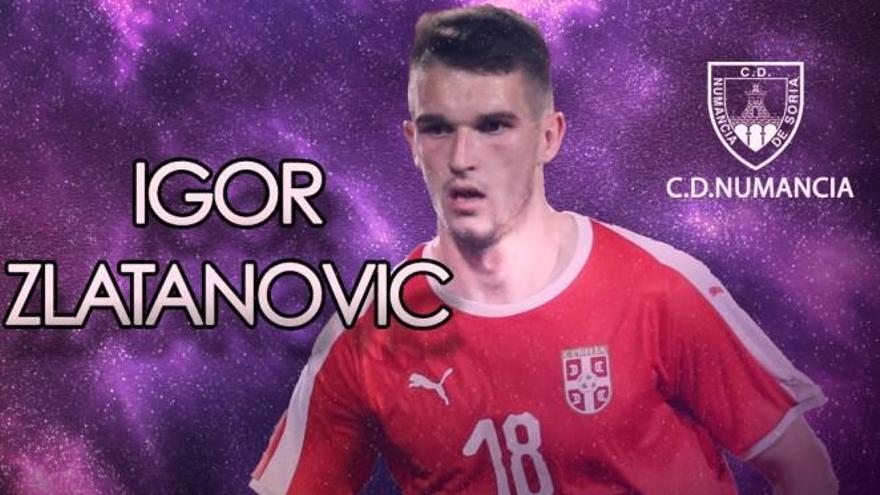 Zlatanovic se marcha cedido al Numancia