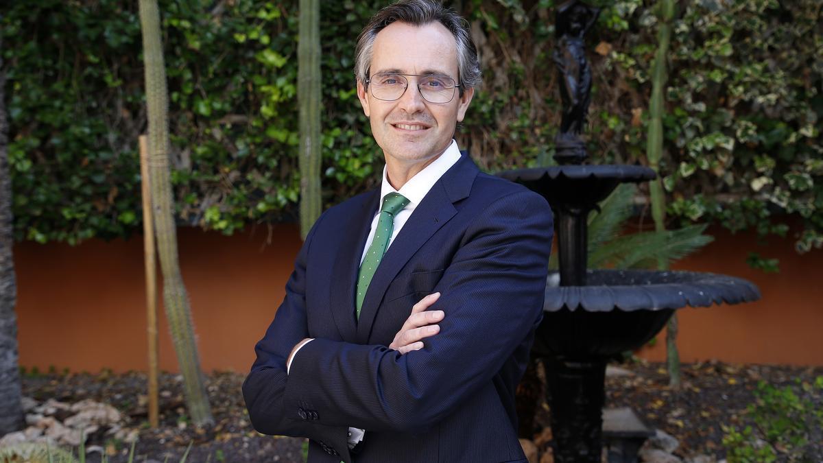 Sergio Sánchez, director de poblaciones Aguas de Alicante.