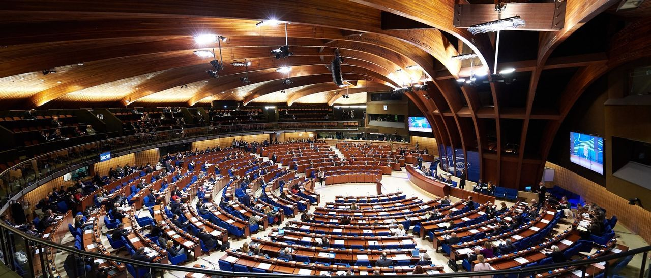 Fotografía de archivo de la Asamblea Parlamentaria del Consejo de Europa.