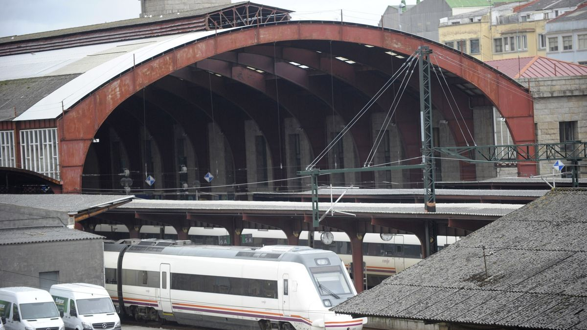 Estación de ferrocarril de San Cristóbal.