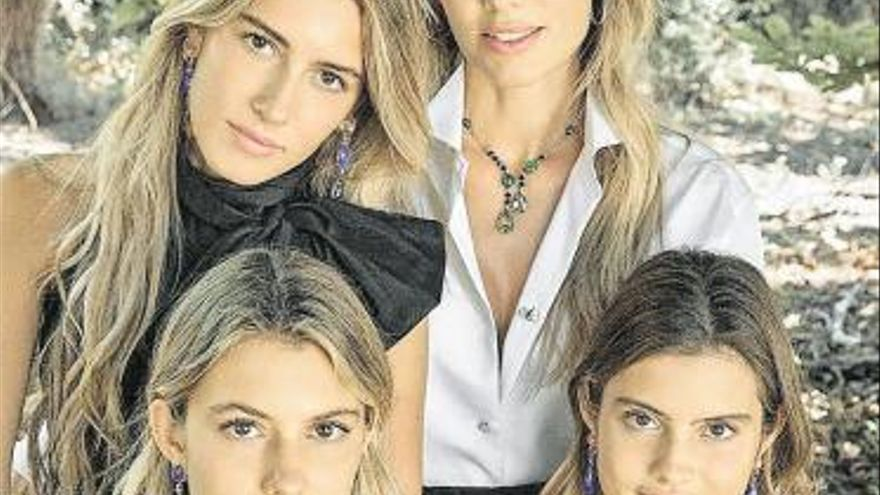 Las chicas de Figo presumen de joyas