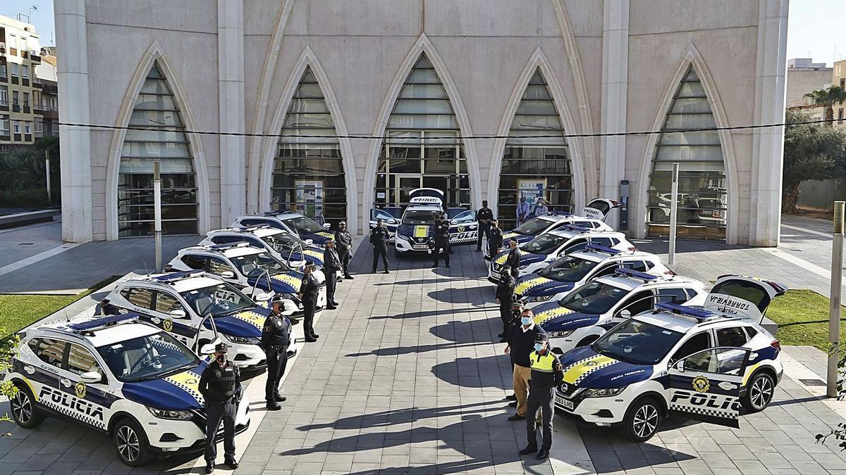 New fleet of police vehicles