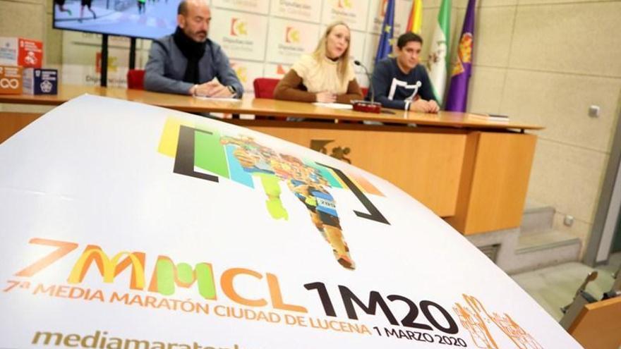 La Media Maratón Ciudad de Lucena prevé repetir los más de 1.000 atletas del 2019