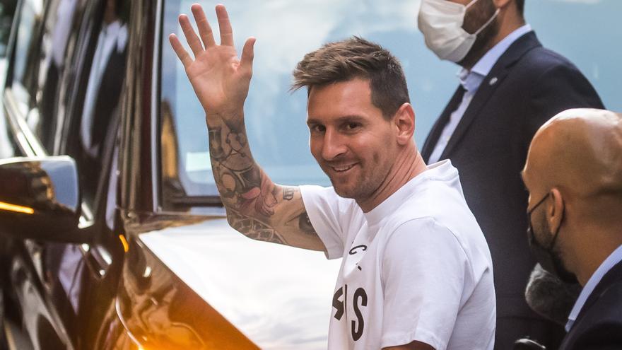 Directo | Presentación de Leo Messi como nuevo jugador del PSG