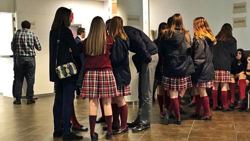 La Ciudad de la Justicia inicia su programa formativo a alumnos de los institutos