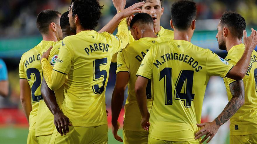 El Villarreal se divierte ante el Elche y suma su primera victoria