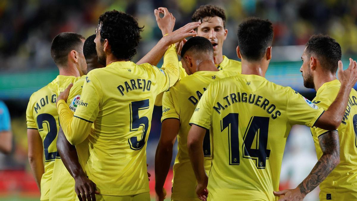 El Villarreal se impone por 4-1 al Elche.
