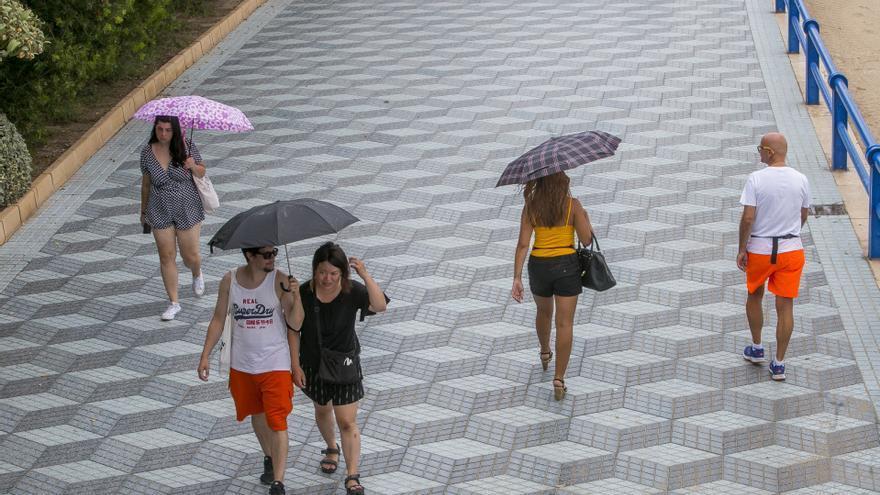 El tiempo en Alicante: Alerta amarilla por lluvias para el fin de semana