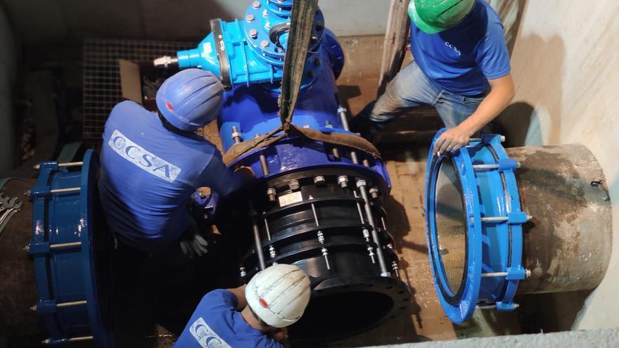 La Emshi moderniza la toma de emergencia de agua potable en Catarroja