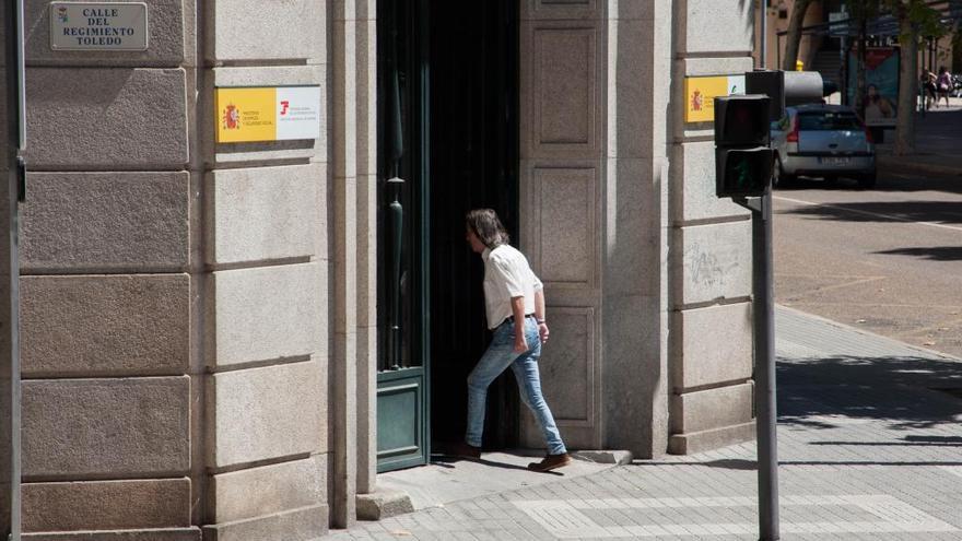 La Policía Nacional investiga el robo de cobre en las obras del edificio del INSS de Zamora