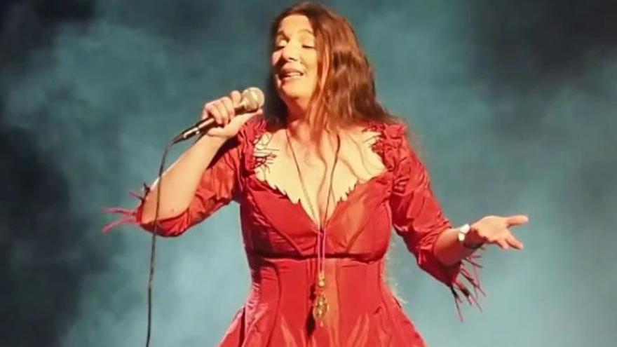 Dulce Pontes peregrina hasta el Auditorio de Tenerife