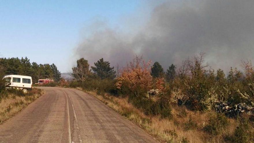 Sofocado un incendio en Vegalatrave