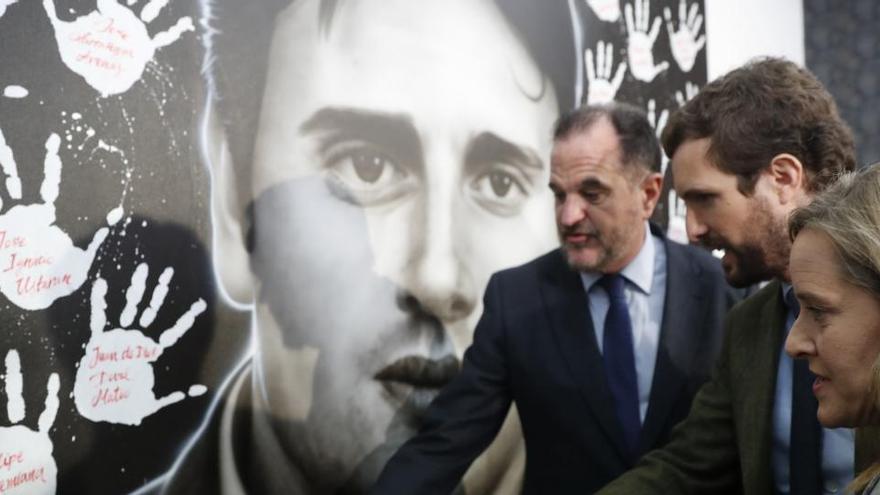 Ermua recuerda a Miguel Ángel Blanco en el 23 aniversario de su asesinato