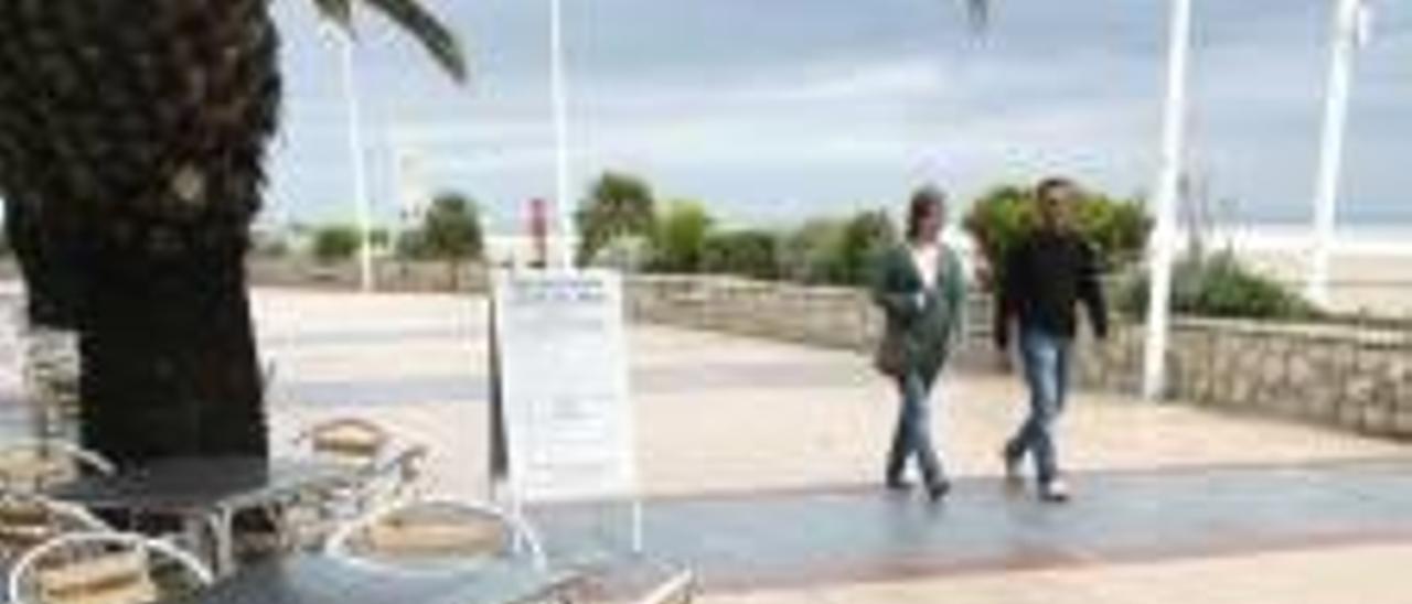 El interés público facultará  a Sagunt para revocar el permiso a cualquier terraza