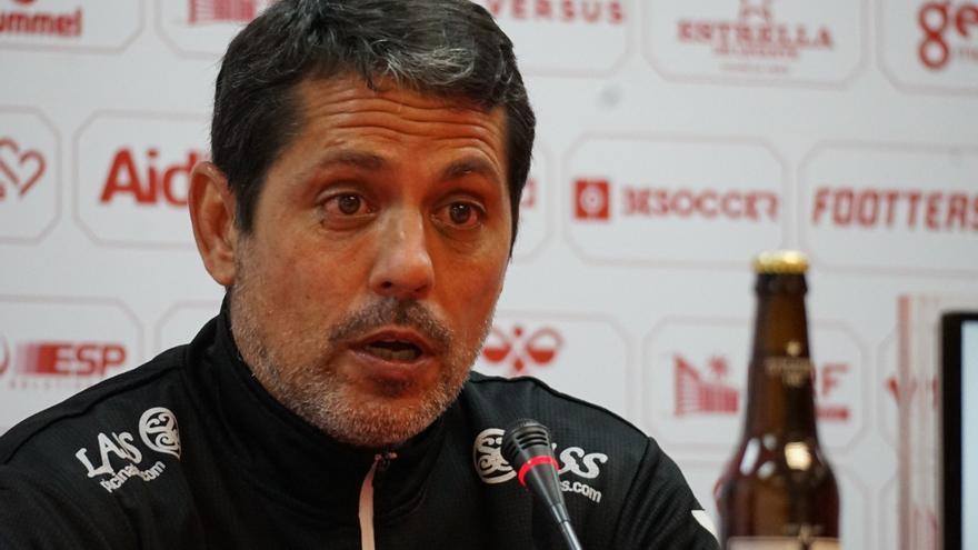 «El equipo hace cosas bien, pero espero que haya más intensidad y más juego ofensivo»