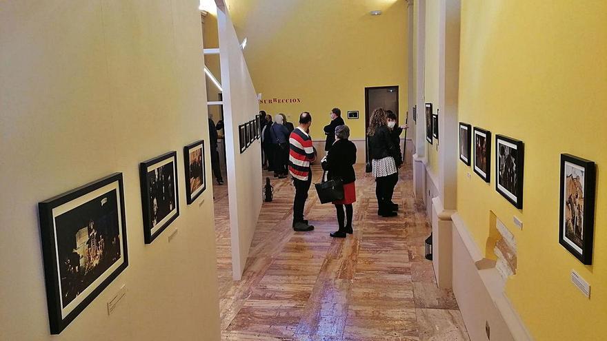 """Rocío Gato propone rememorar la Semana Santa de Toro con la exposición """"Resurrección"""""""