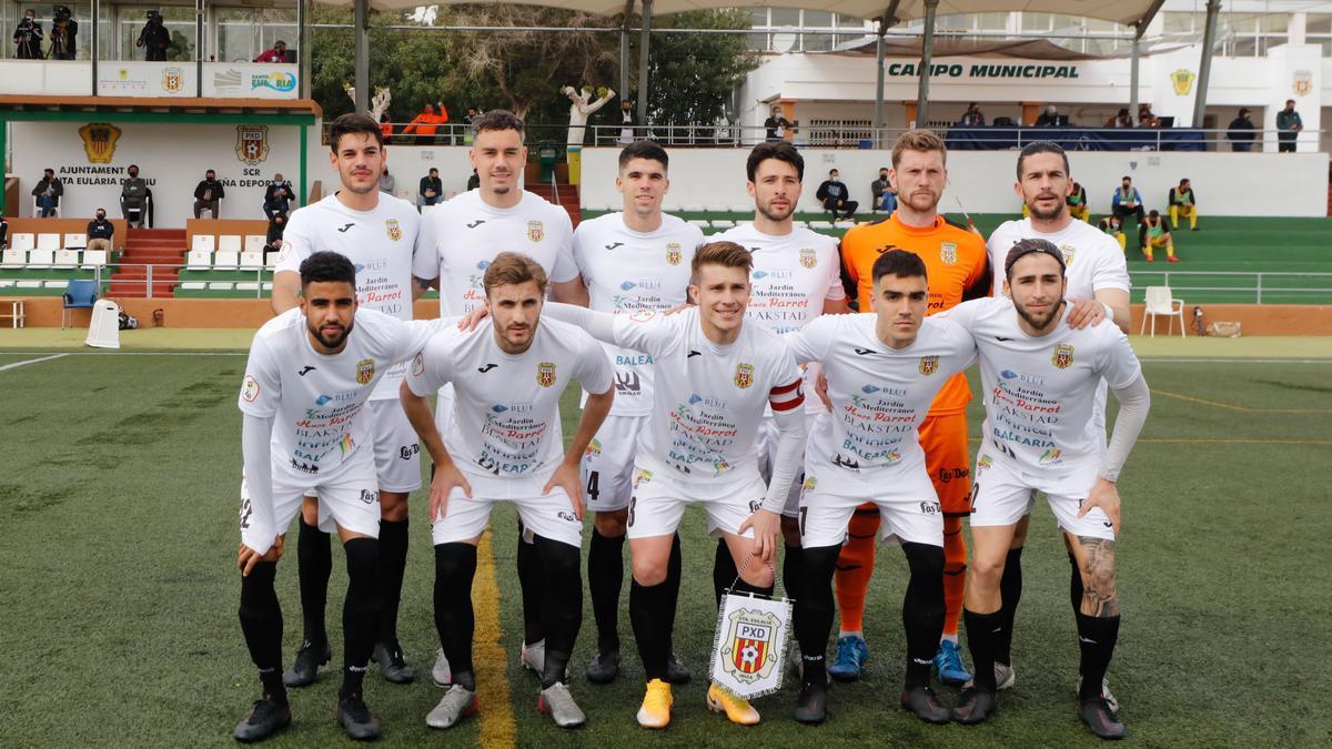 Alineación titular de la Peña Deportiva
