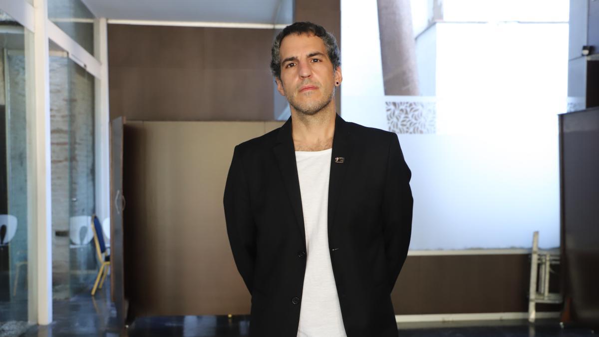Antonio Agredano verá su primera novela en las librerías el día 16 de junio.