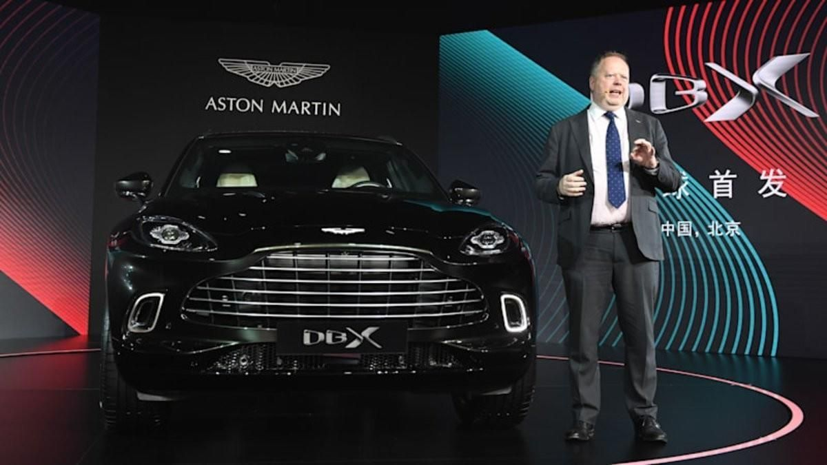 Aston Martin despide a Andy Palmer y nombra CEO a Tobias Moers (Mercedes-AMG)