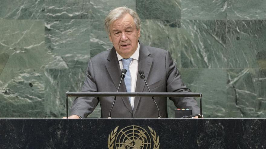 """Guterres llama a combatir el """"virus"""" del antisemitismo"""