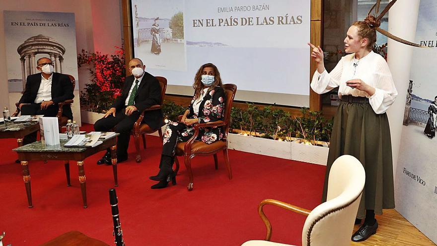 """FARO inaugura en Vigo la exposición """"Emilia Pardo Bazán en el país de las rías"""""""