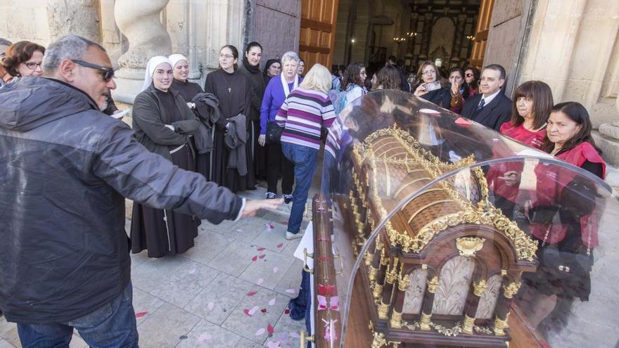 Las reliquias de Santa Teresa del Niño Jesús ya están en el monasterio de Santa Faz