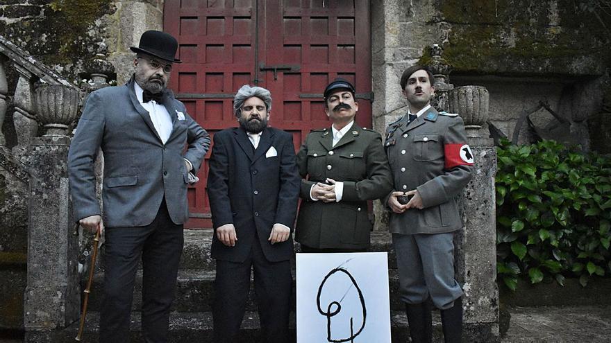 Retranca gallega para contar lo que hacía Hitler en su tiempo libre