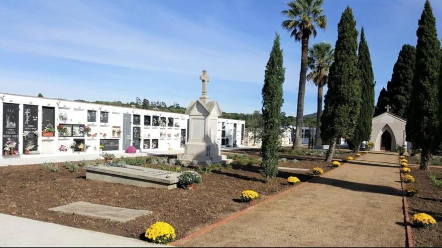 Nou municipis de l'Alt Empordà rebran ajuts de la Diputació per invertir en cementiris