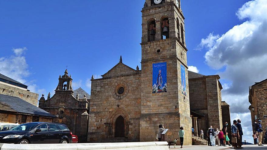 Estandartes para Las Victorias en Puebla de Sanabria