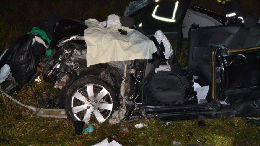 Un camionero gallego ebrio causa un grave accidente y se da a la fuga